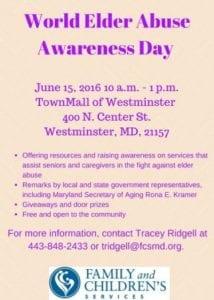 DIGITAL World Elder Abuse Awareness Day
